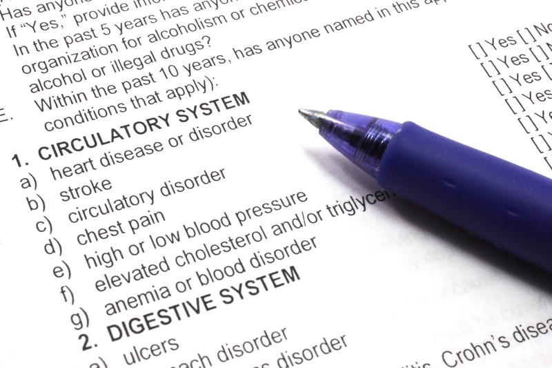 Health insurance Checklist and coding